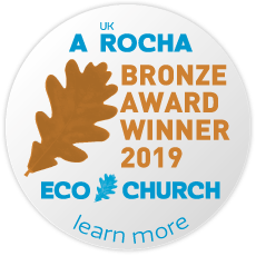 Eco Church Bronze Award 2019